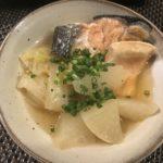 鮭と大根の鍋〜江戸の小鍋立て〜