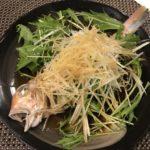 甘鯛の清蒸魚