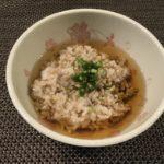 むき蕎麦と蕎麦飯