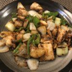鶏肉の豆豉炒め