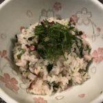 タコの桜飯