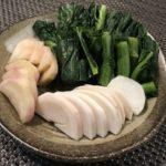 野沢菜漬と野沢菜カブ