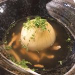 新玉ねぎの丸ごとスープと丸ごと漬け